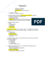 Modele Clasa a XII-A 2009 - Chimie Organica (1)