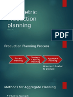 Parametric Production Planning