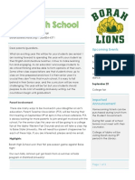midby  back to school newsletter
