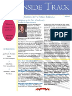 Inside Track - May 2010 - Publication for Employees of the Falls Church City Public Schools