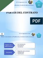 3.- Partes en El Contrato