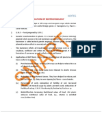 Notes and Important Points on Application of Biotechnology - Biology - AIPMT - Simplylearnt
