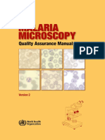 2015 Who Malaria Microscopy Quality Assurance