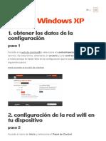 WificlientesR - Manual Windows XP
