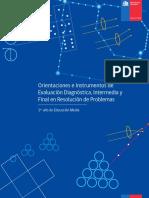 Orientaciones e Instrumentos de  Evaluación en Resolución de Problemas