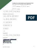 Matrices.- Ejercicios Resueltos Sobre Ecuaciones Matriciales y Matriz Inversa