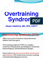 10 Overtraining Syndrome