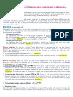 RELACIÓN DEL EJERCICIO PROFESIONAL DE LA INGENIERÍA CON EL CÓDIGO CIVIL