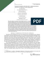 Mixed Methods Research in Scho