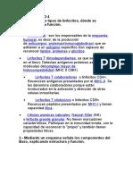 CUESTIONARIO 4 histologia