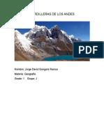 Cordilleras de Los Andes