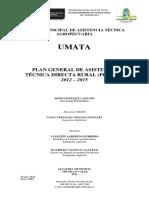 7. Plan de Asistencia Tecnica Umata 2012 2015