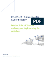 Iso27032 Guidelines Cybersecurity 2011 Deloitte Uk