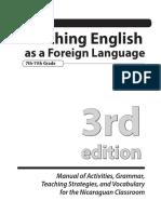 TEFL Manual 3rd Edition