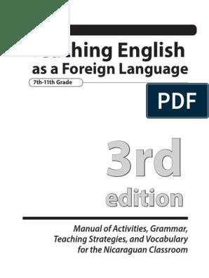 Tefl Manual 3rd Edition Educational Assessment Lesson Plan