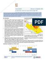 SOUTH SUDAN Food Security Outlook
