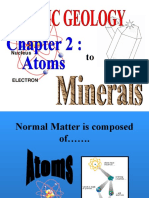Chapter 2 Atoms to Minerals & RFM