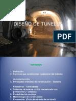 Diseño de Minas. Tuneles
