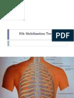 Rib Mobilization Techniques