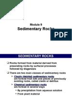 Module 9 - Sedimentary Rocks