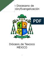 Plan de Pastoral de La Diócesis de Texcoco