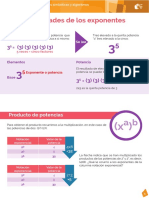 Propiedade y Exponentes