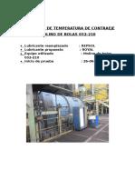 Informe de Temperatura Contraeje 032-210