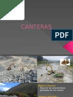 CANTERAS (definición para carreteras y caminos)