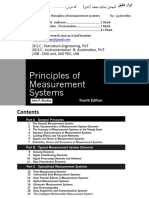 Principles of Measurement System-Formula