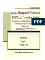 Ahmed El Antary - PMP Part 1- 5th Ed - General