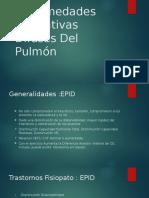 Enfermedades Infiltrativas Difusas Del Pulmón
