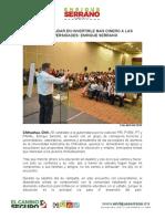 2016-04-09 No Voy a Dudar en Invertirle Mas Dinero a Las Universidades- Enrique Serrano