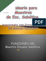 Seminario Para Maestros de Esc. Sabatica.