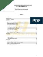 Manual de Usuario Sistema Mantenimiento Hondutel