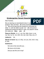 parent newsletter 17