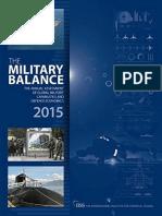 5399900cd5f The Military Balance 2015