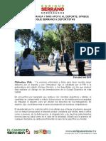 2016-04-09 MENOS BUROCRACIA Y MÁS APOYO AL DEPORTE, OFRECE ENRIQUE SERRANO A DEPORTISTAS