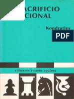 Kondratiev - El Sacrificio Posicional