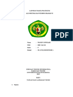 Laporan Hasil Praktikum ALPRO Modul 3