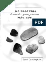 Enciclopedia de Cristales Gemas y Metales Magicos