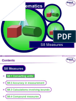 s8 Measures