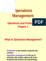Operations Management Lec 01 - Intro