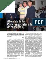 ciencias sociales conceptos