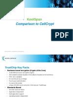 KoolSpan Comparison to CellCrypt