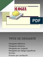 Tribología Tipos de Desgaste Presentacion