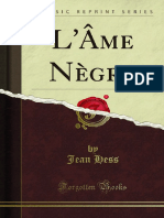 L Ame Negre (Jean Hess)