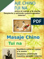 Masaje Chino