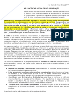 Conceptualización de las Prácticas Sociales de Lenguaje
