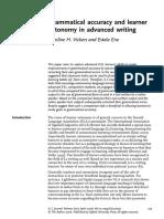 ELTJ2006 Autonomy Grammar Writing (Vickers)