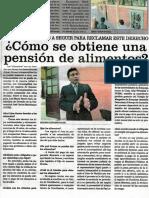 Como Se Obtiene Una Pensión de Alimentos - José María Pacori Cari064